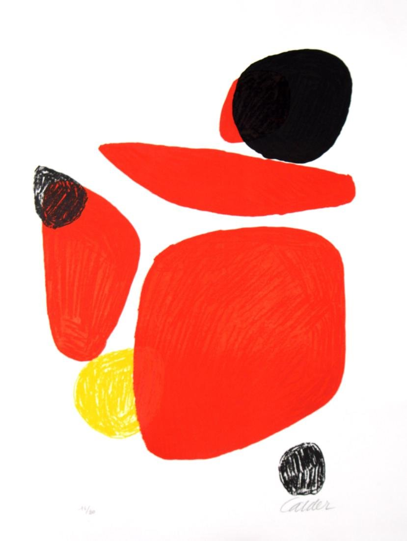 Alexander Calder - Untitled Lithograph
