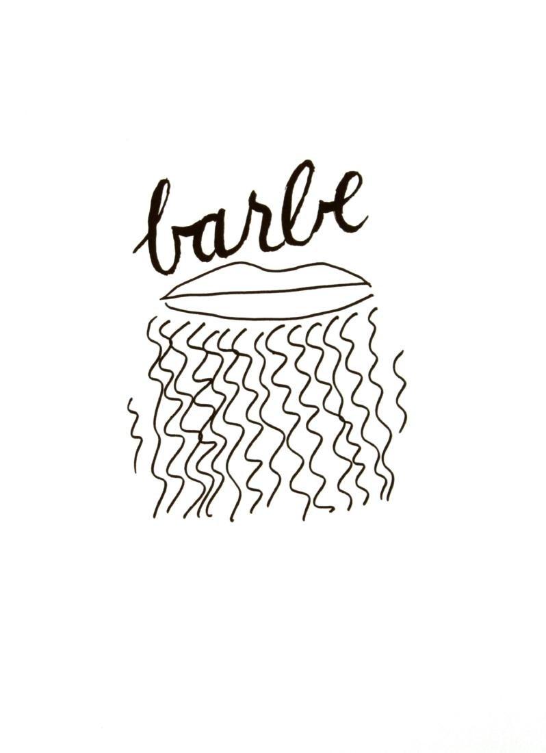 Man Ray - Barbe