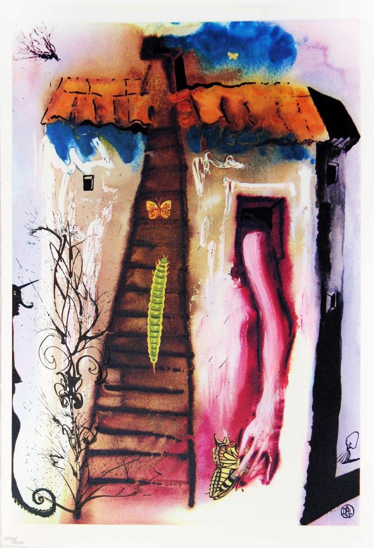 Salvador Dali - The Rabbit Sends in a Little Bill