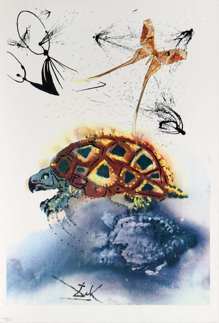 Salvador Dali - The Mock Turtle's Story