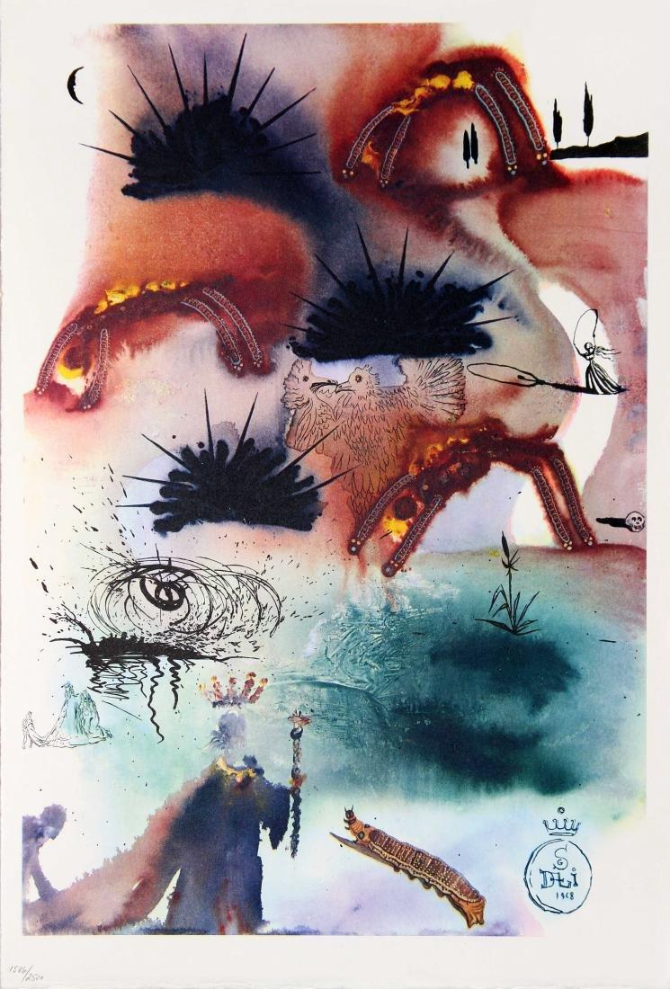 Salvador Dali - The Lobster Quadrille