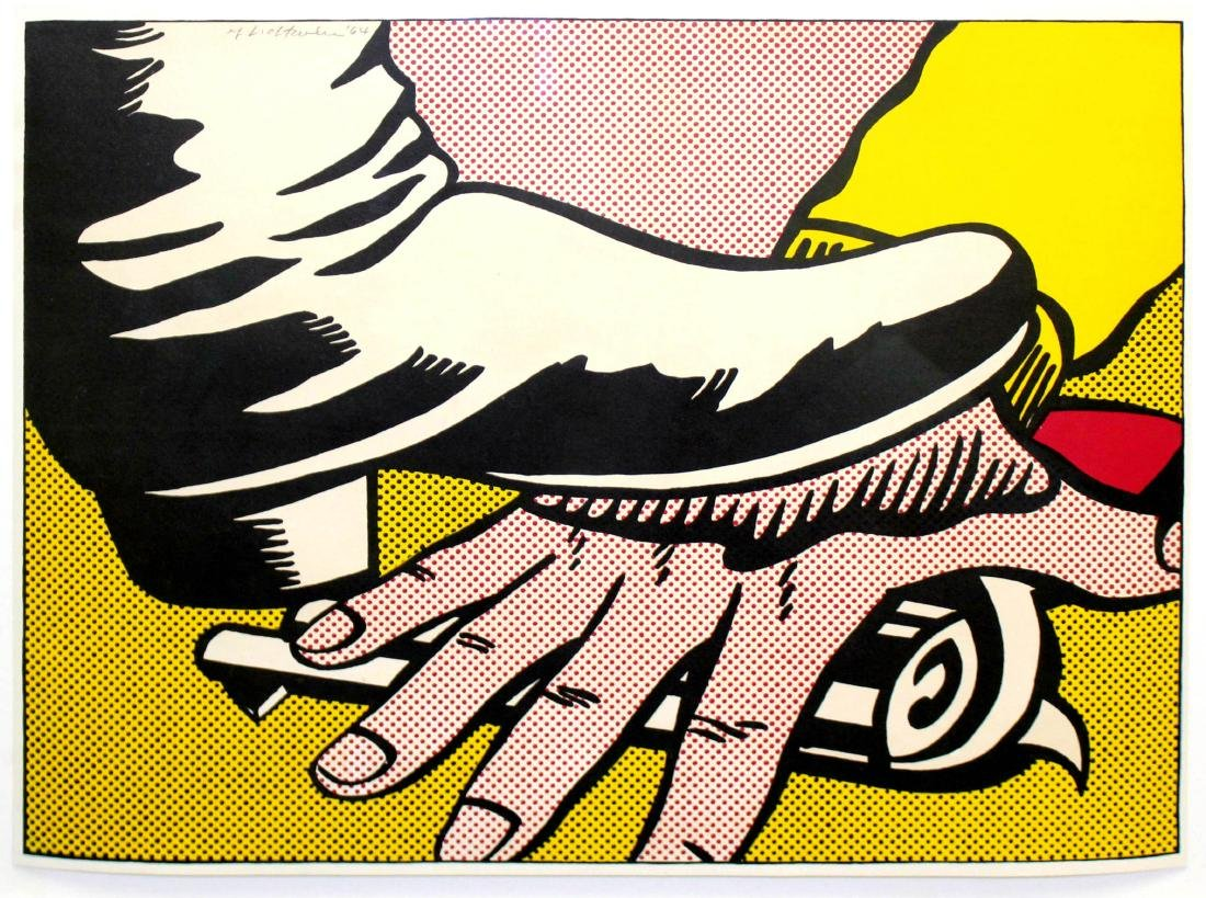 Roy Lichtenstein - Foot and Hand