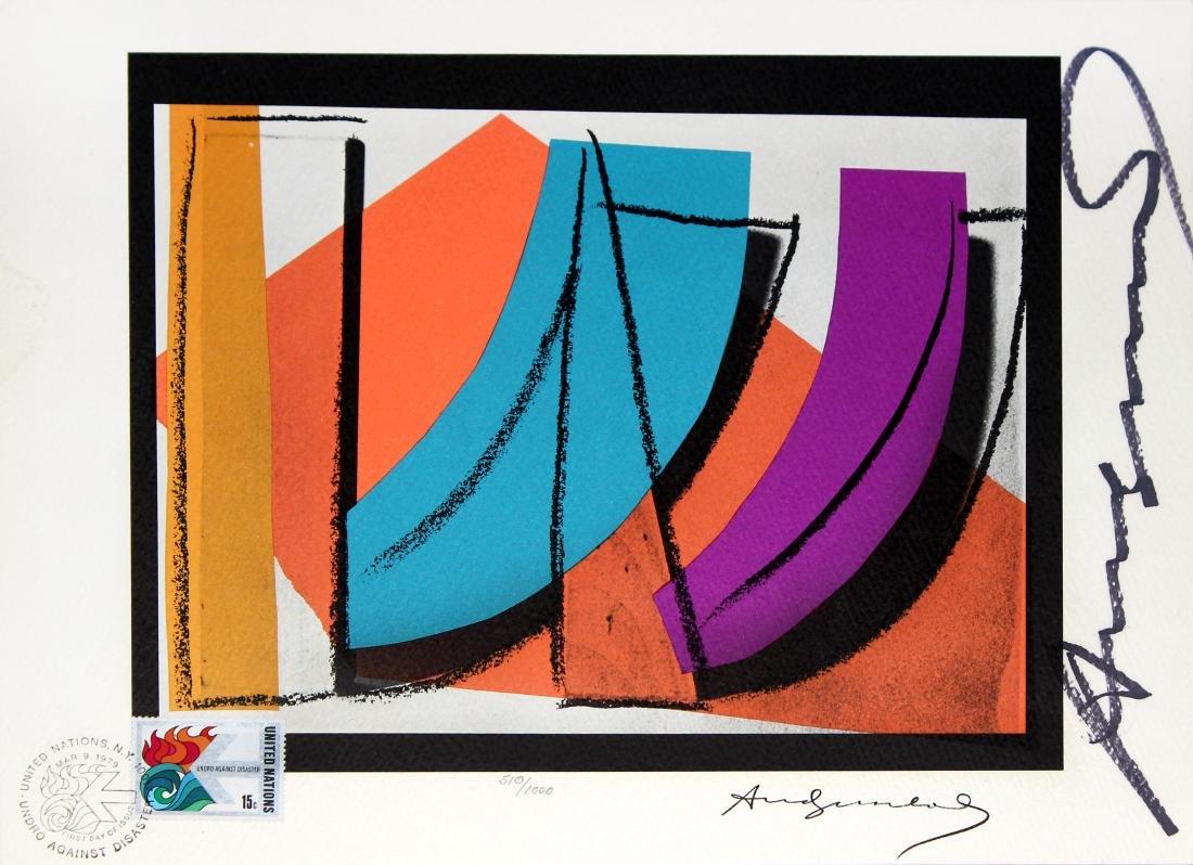 Andy Warhol - U.N. Stamp
