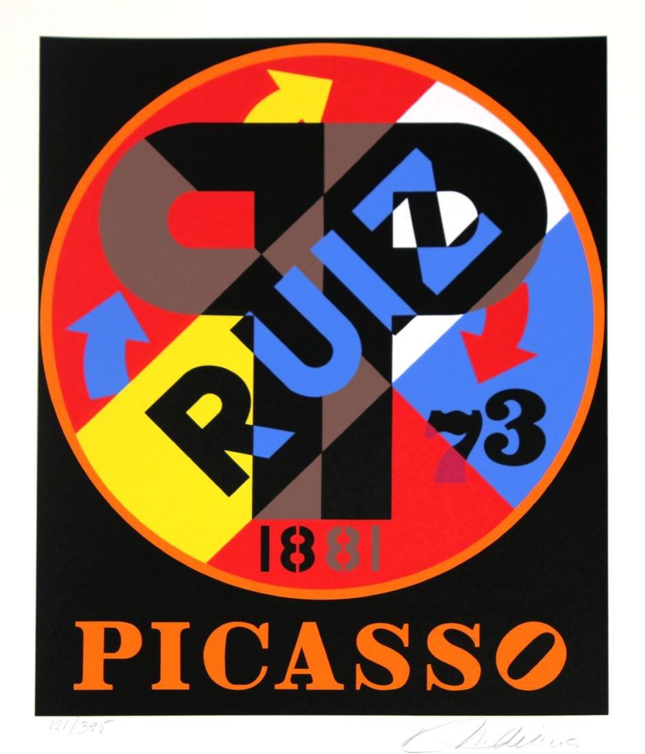 Robert Indiana - Picasso Ruiz