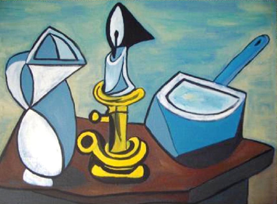 Pablo Picasso (After) - La Casserole Emailee