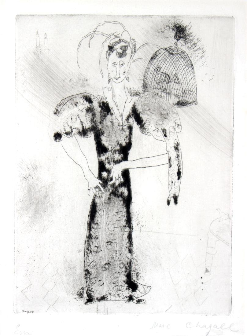Marc Chagall - Madame Sobakevitch