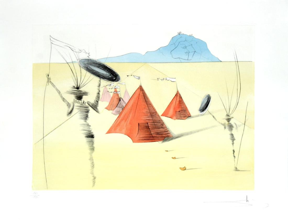 """Salvador Dali - Gad from """"The Twelve Tribes of Israel"""