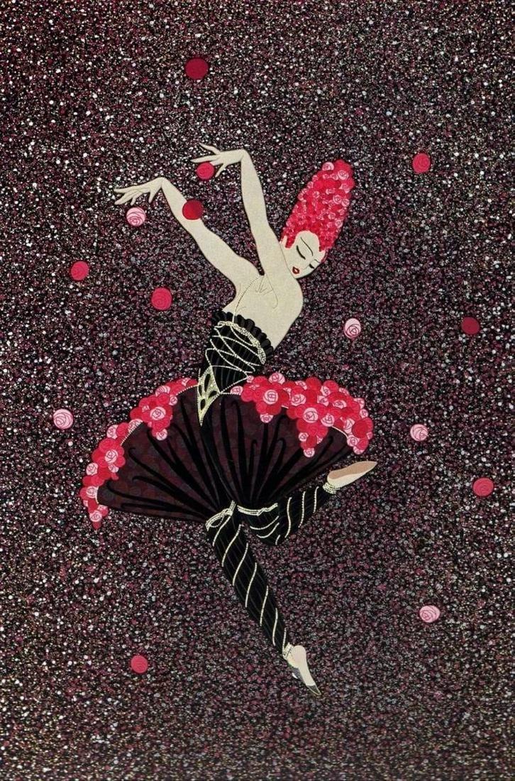 Erte - Rose Dancer