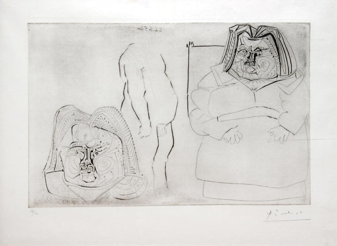 Pablo Picasso - Balzac