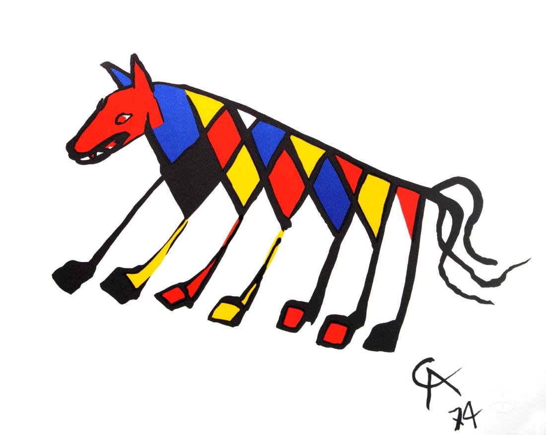 Alexander Calder - Beastie