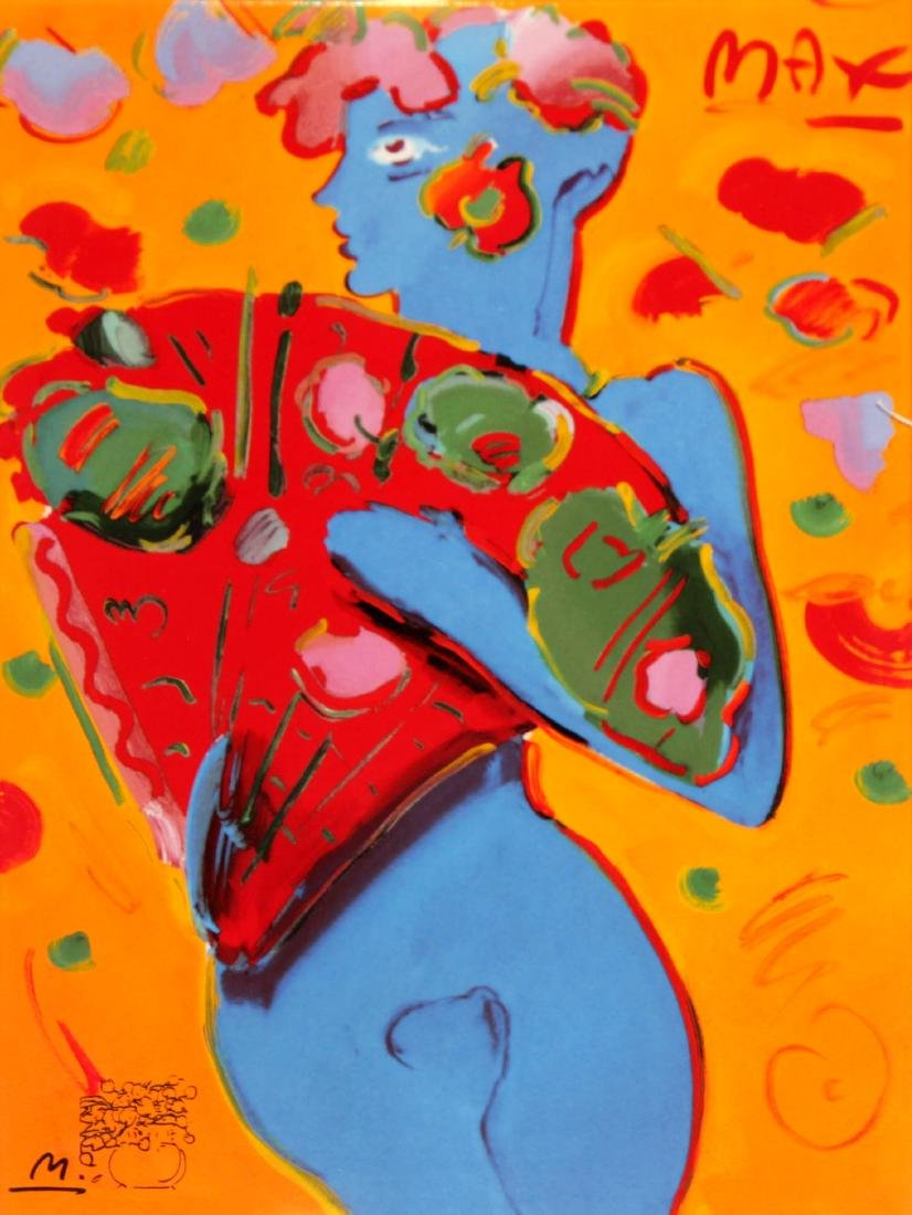 Peter Max - Fan Dancer
