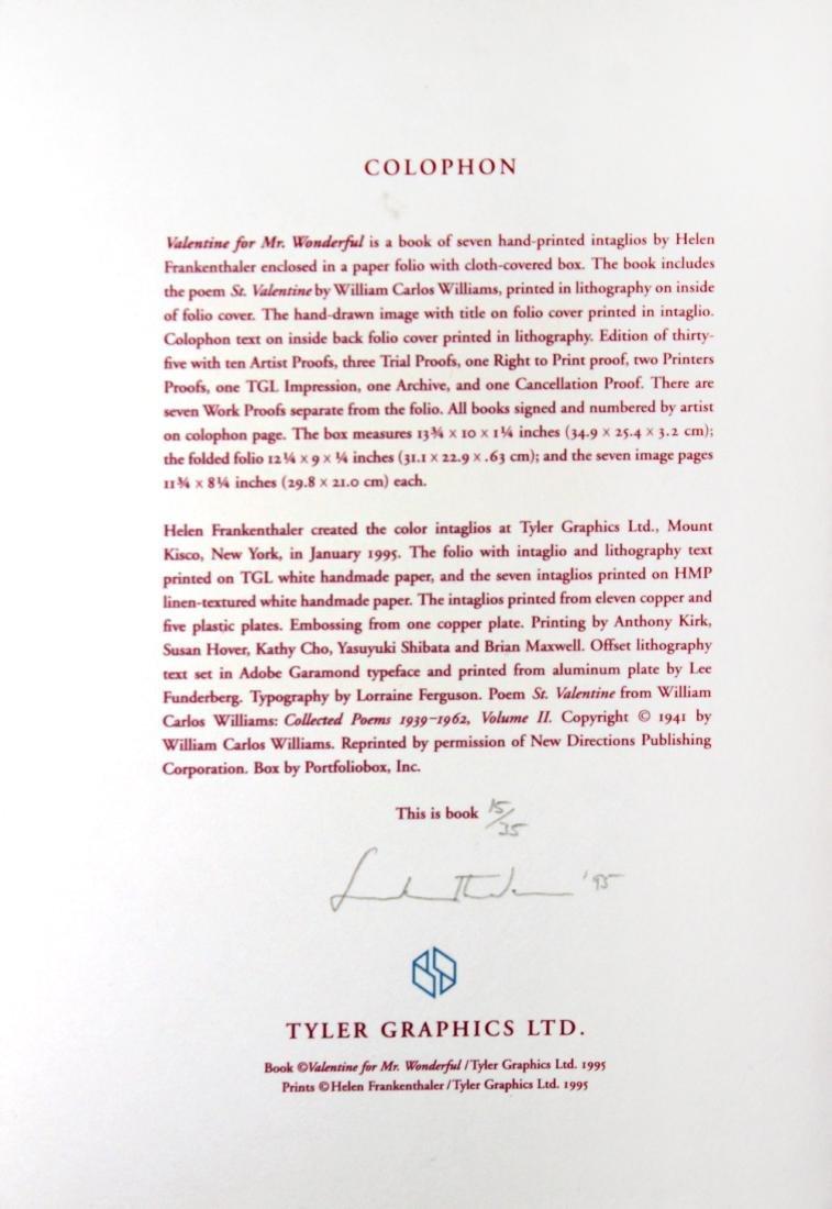 Helen Frankenthaler - Valentine for Mr. Wonderful - 5