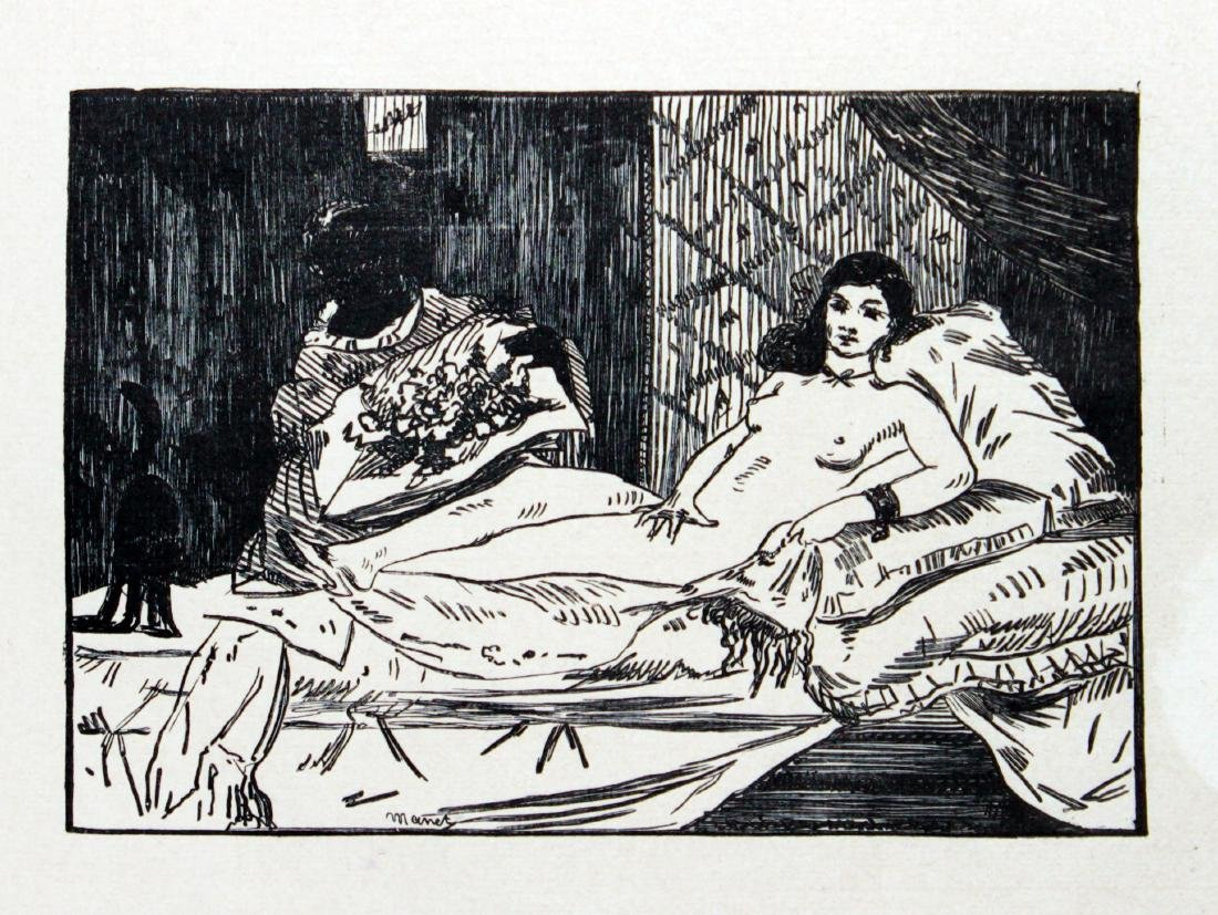 Edouard Manet - Olympia