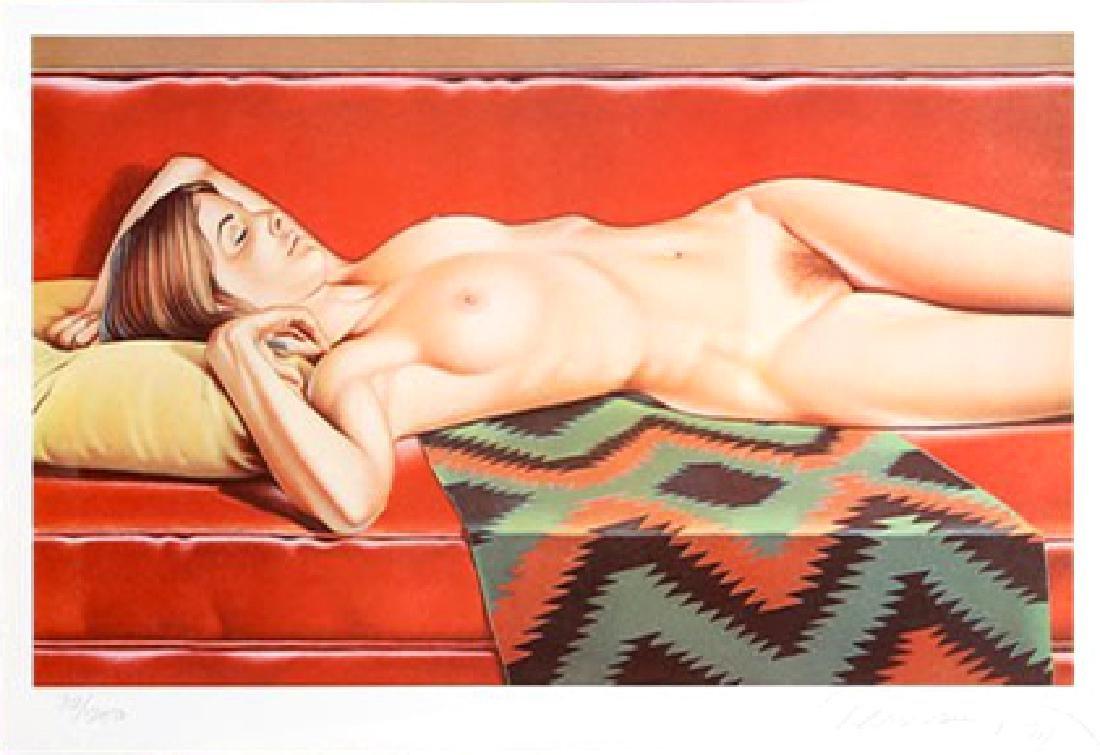 Mel Ramos - Navajo Nude