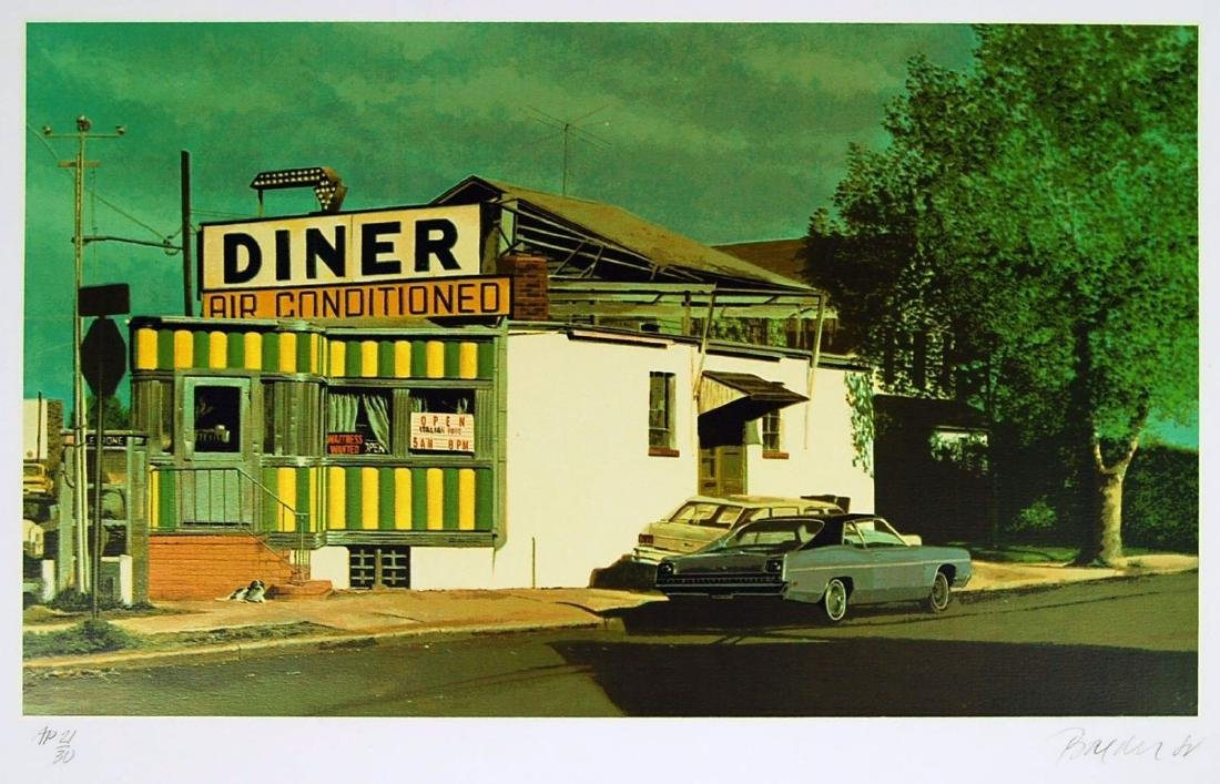 John Baeder - Royal Diner