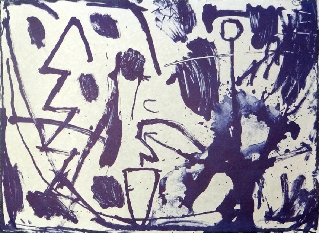 James Brown lithograph