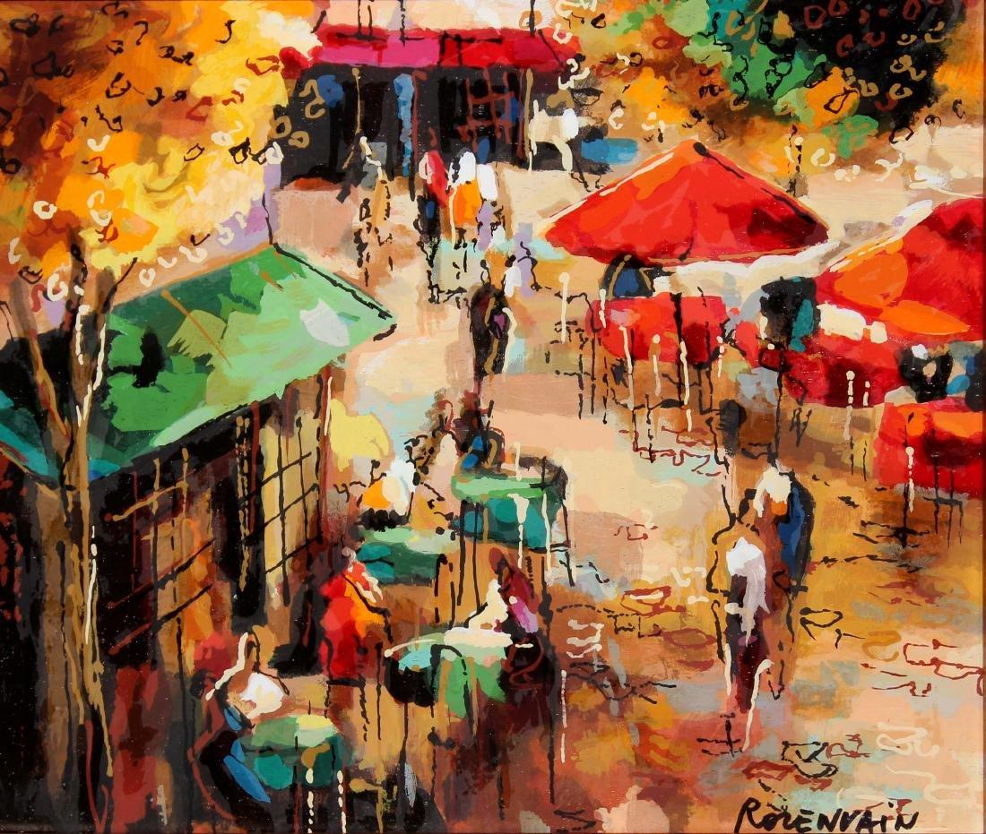 Cafe Scene by Michael Rozenvain