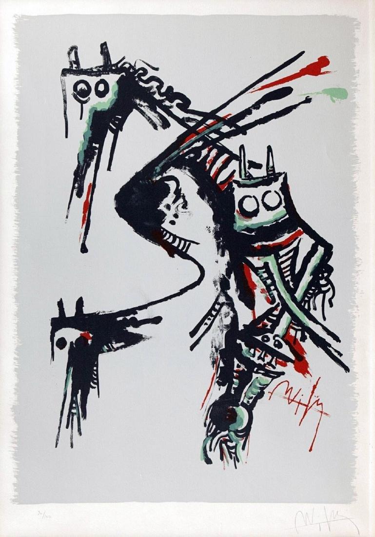 Wilfredo Lam - Fantasy Animals Composition