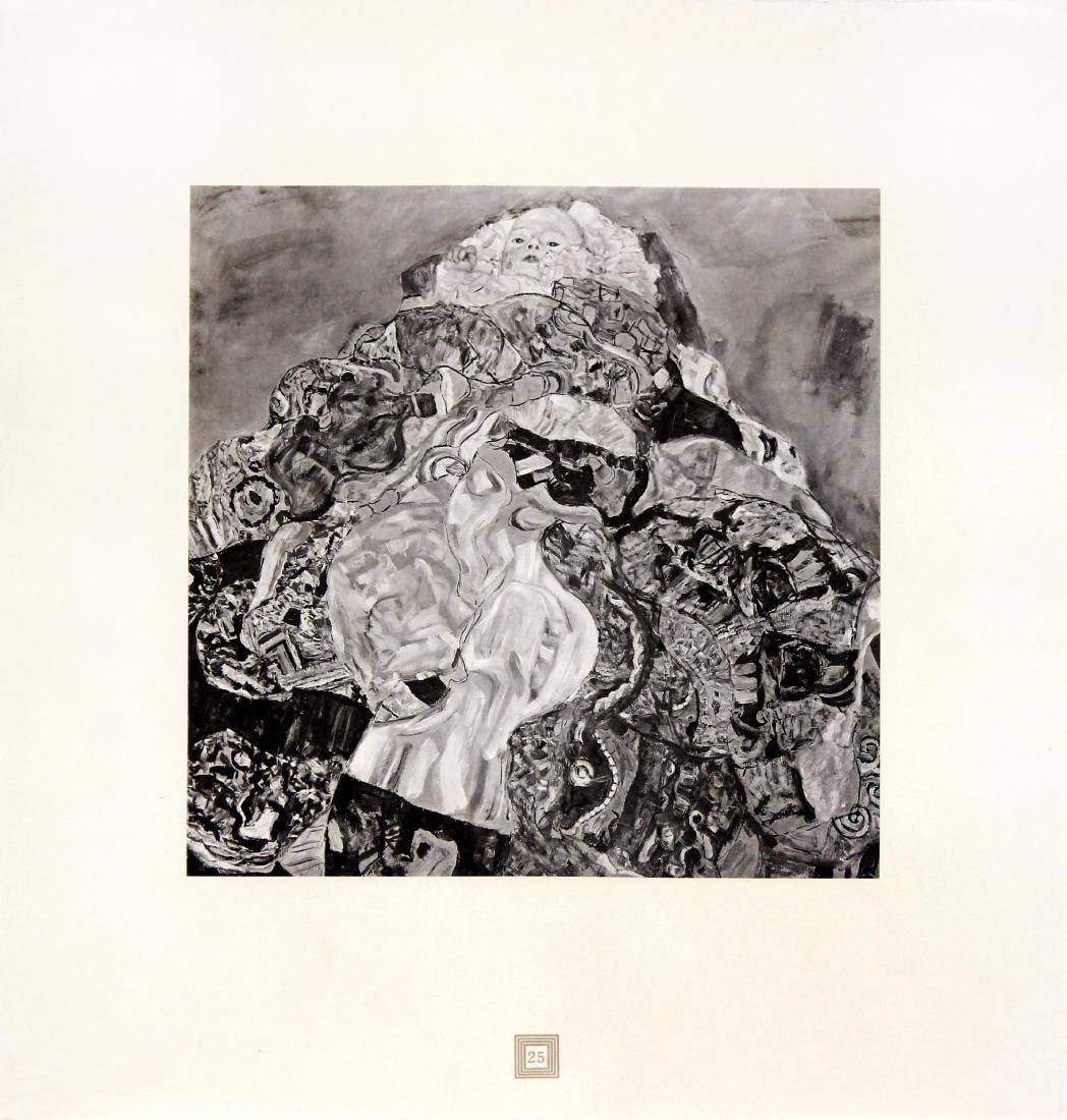 Baby by Gustav Klimt (After)