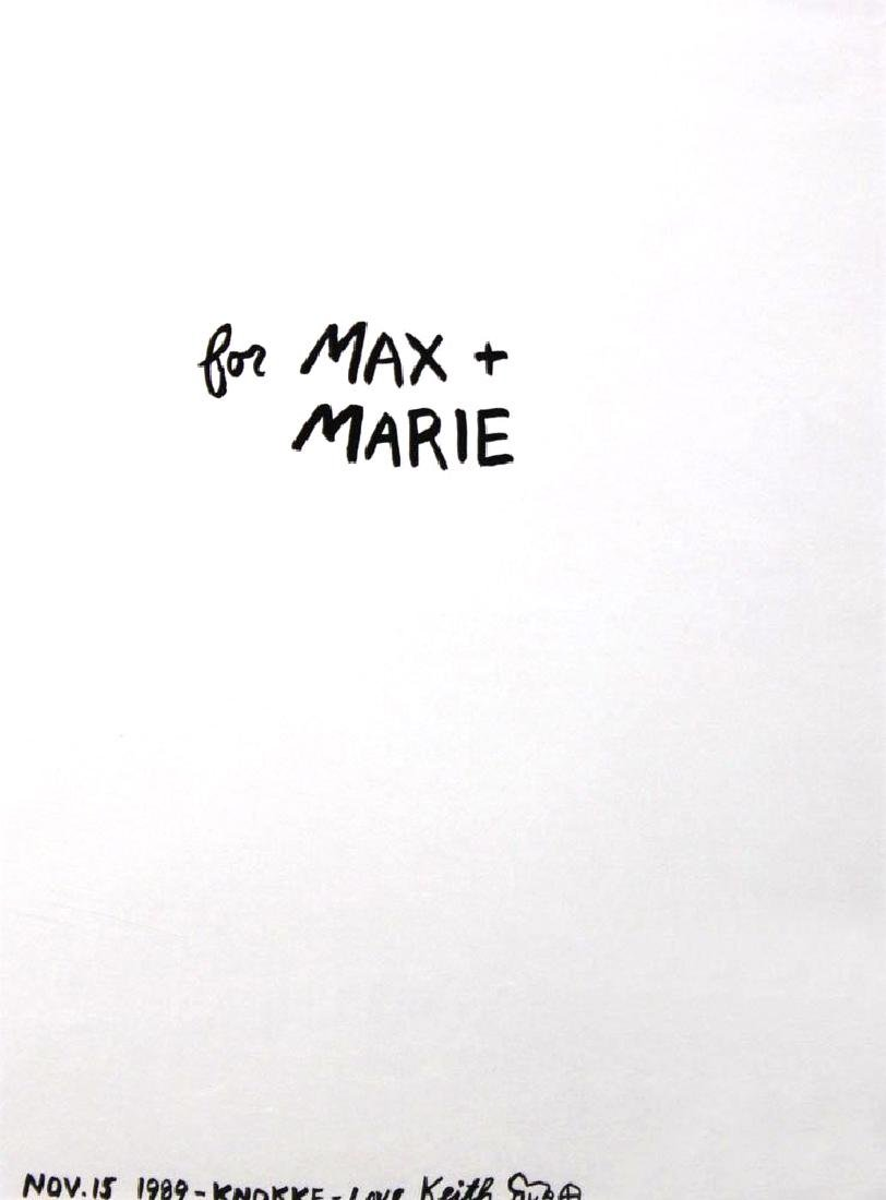 "Keith Haring ""For Max + Marie"""