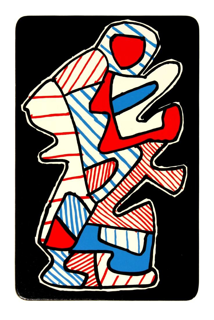 Jean Dubuffet - 2: Le Hochet (from Banque a l'Hourlope)
