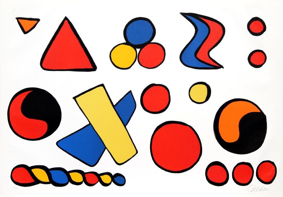 Alexander Calder - Alphabet et Saucisson