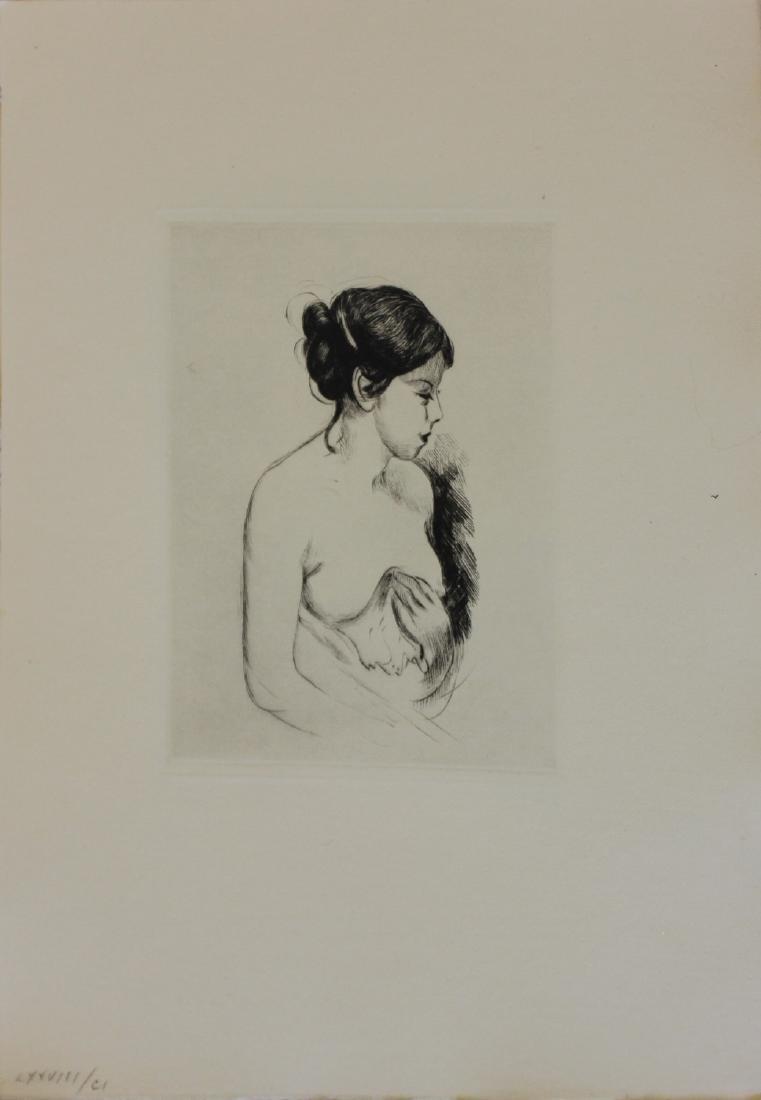 "Berthe Morisot ""Untitled (Young Woman)"""