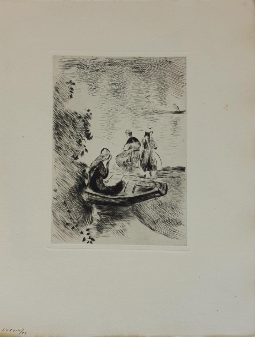 "Berthe Morisot ""Untitled (At the Beach)"""