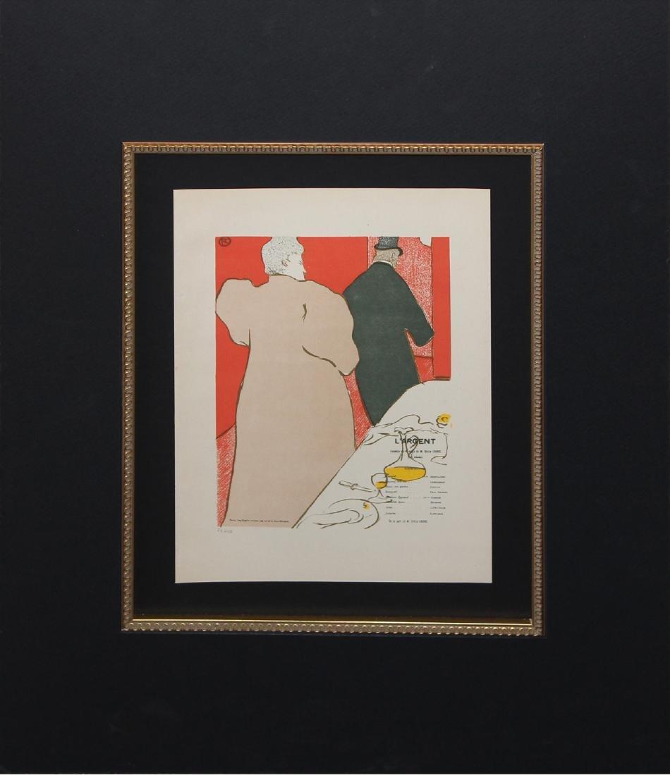 """Henri de Toulouse-Lautrec """"Un Monsieur et une Dame,"""