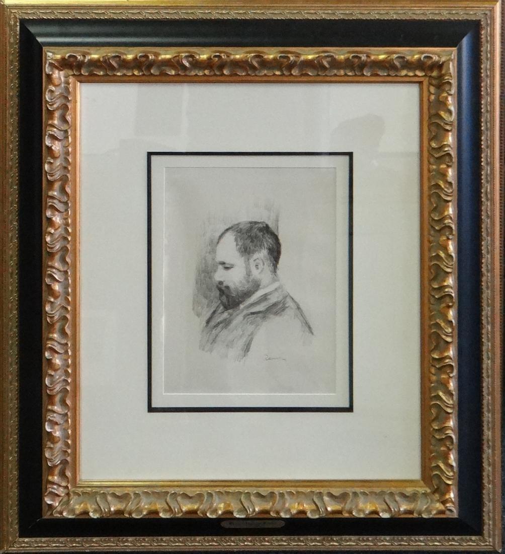 "Pierre-Auguste Renoir ""Portrait of Vollard"""