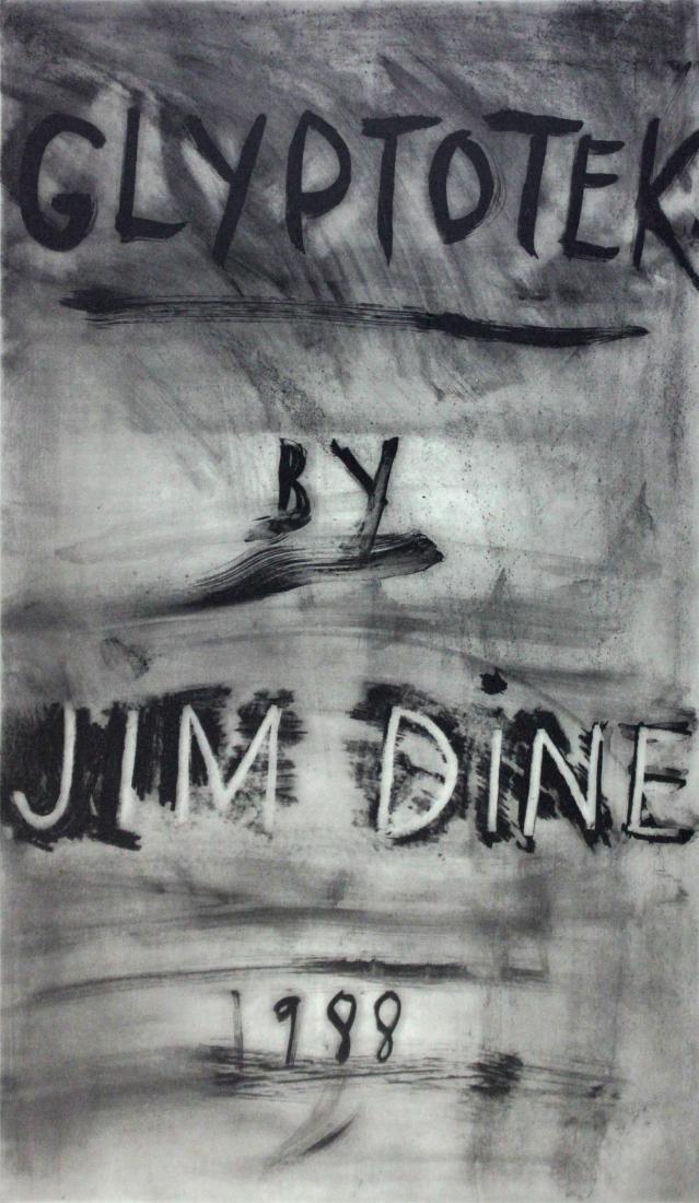 Glyptotek cover by Jim Dine