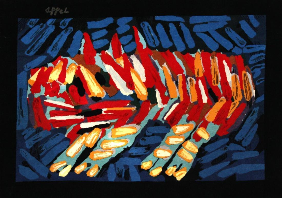 Karel Appel - Cat Tapestry