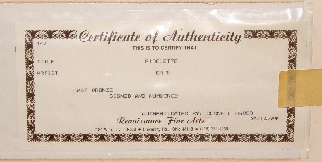 Erte - Rigoletto - 2