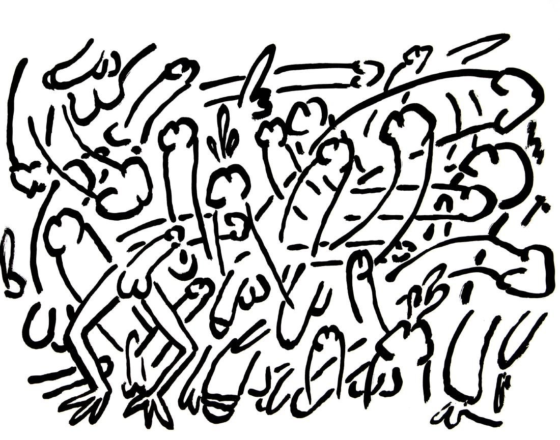 Keith Haring and Brion Gysin - Fault Lines
