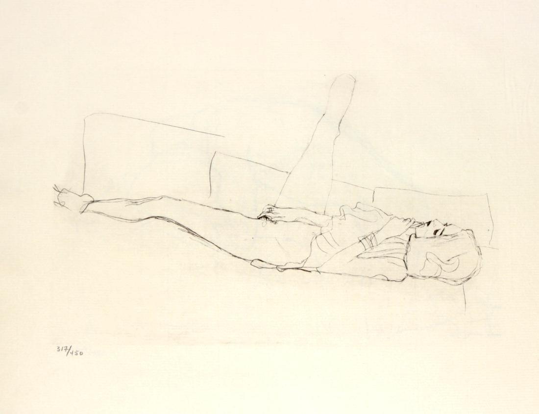 "Gustav Klimt - Untitled from ""des Lukian"""