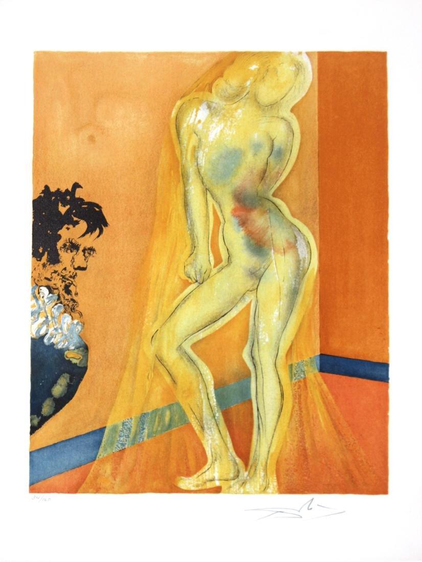 Salvador Dali - Allegory: The Chevalier's Dream of