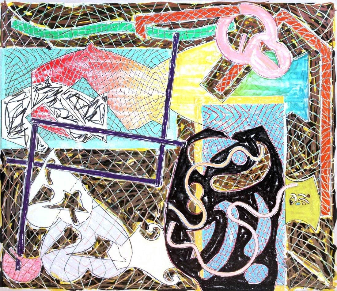 Frank Stella - Shards II