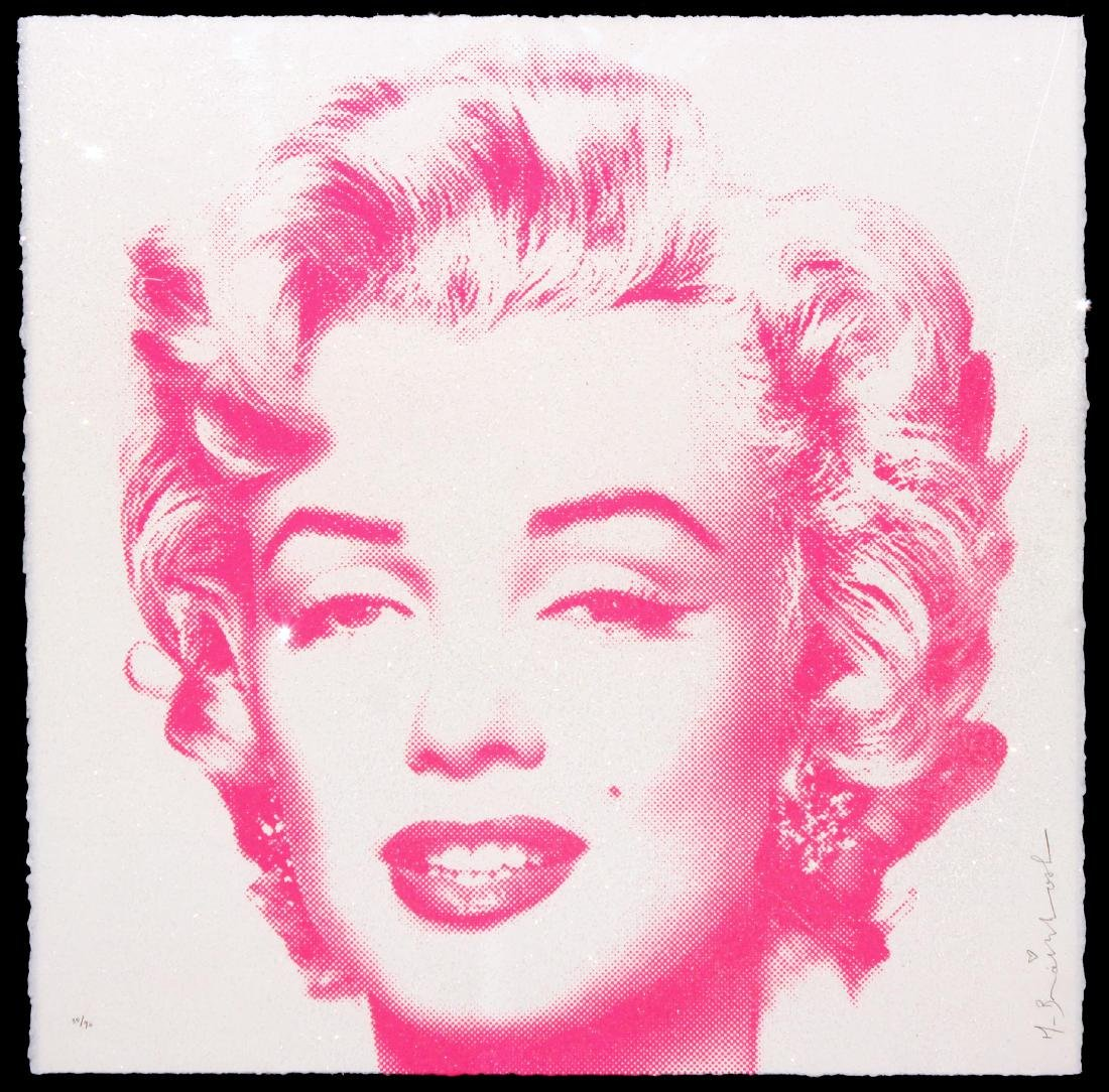 Mr. Brainwash - Diamond Girl Pink Edition
