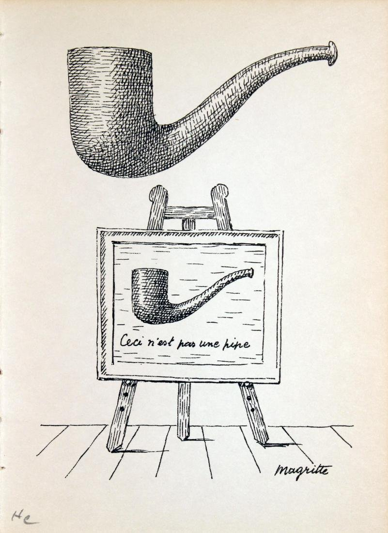 Rene Magritte - Untitled (Pipe)