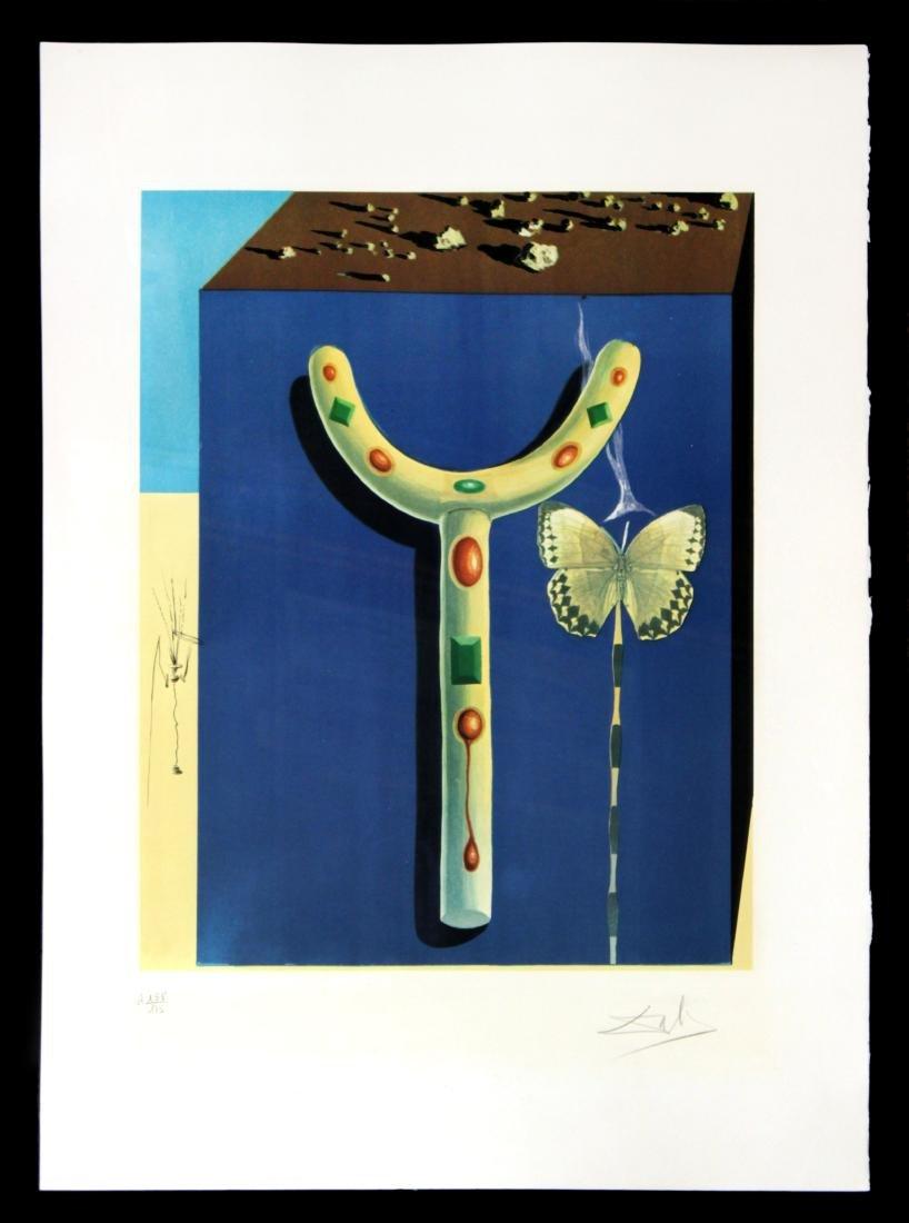 Salvador Dali - Surrealist Crutch