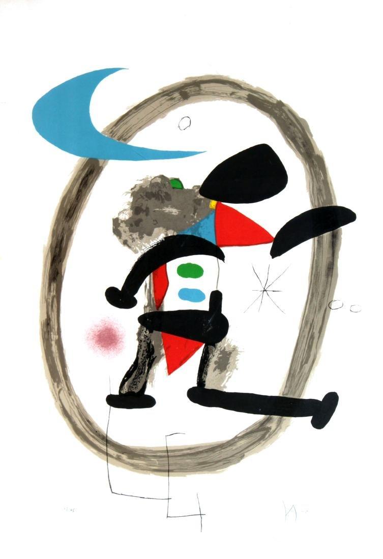 Joan Miro - Arlequin Circonscrit