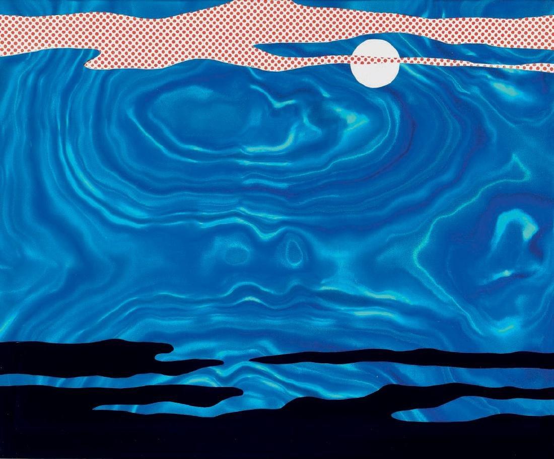 Roy Lichtenstein - Moonscape