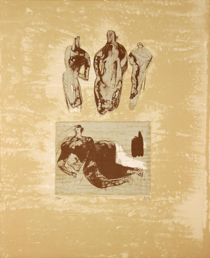 Henry Moore - Ideas from a Sketchbook