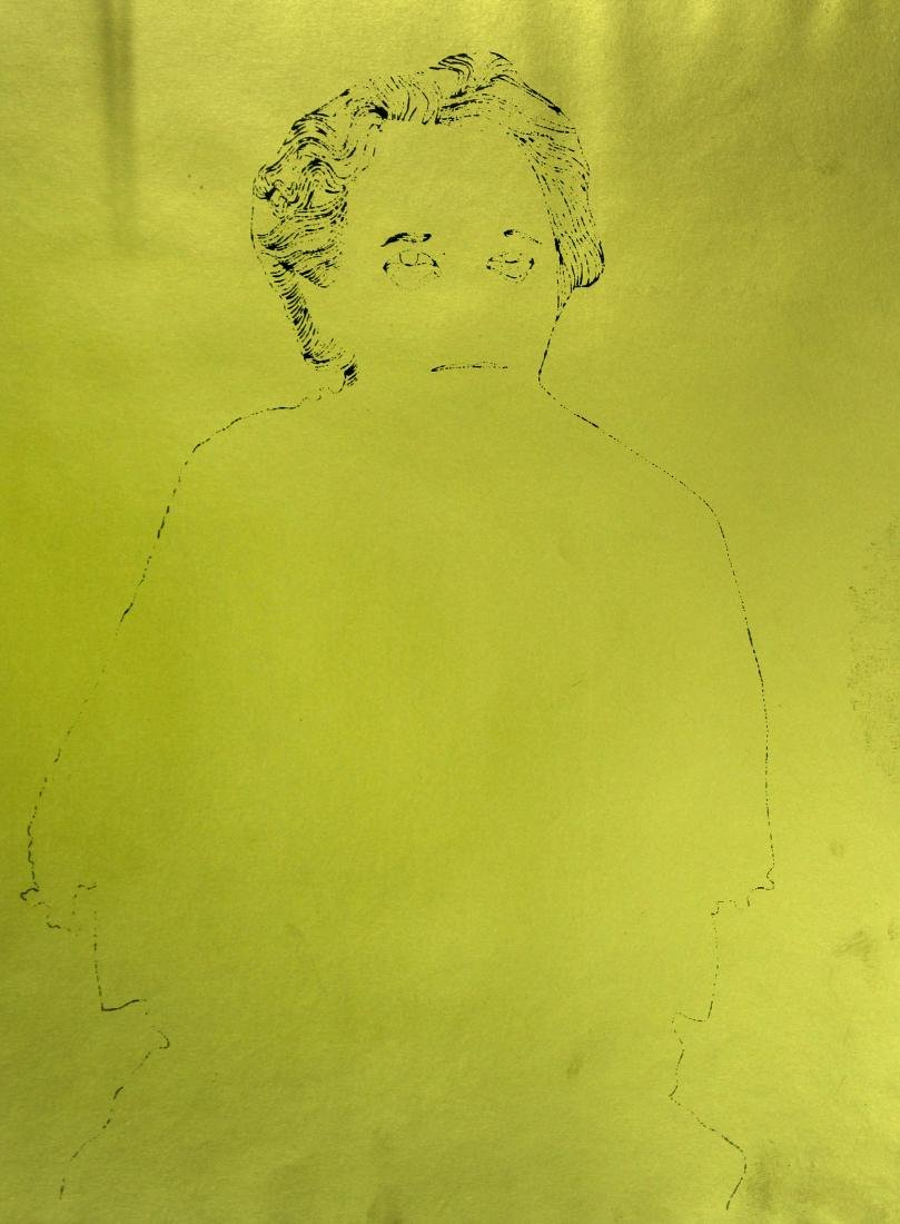Andy Warhol - A Gold Book XI