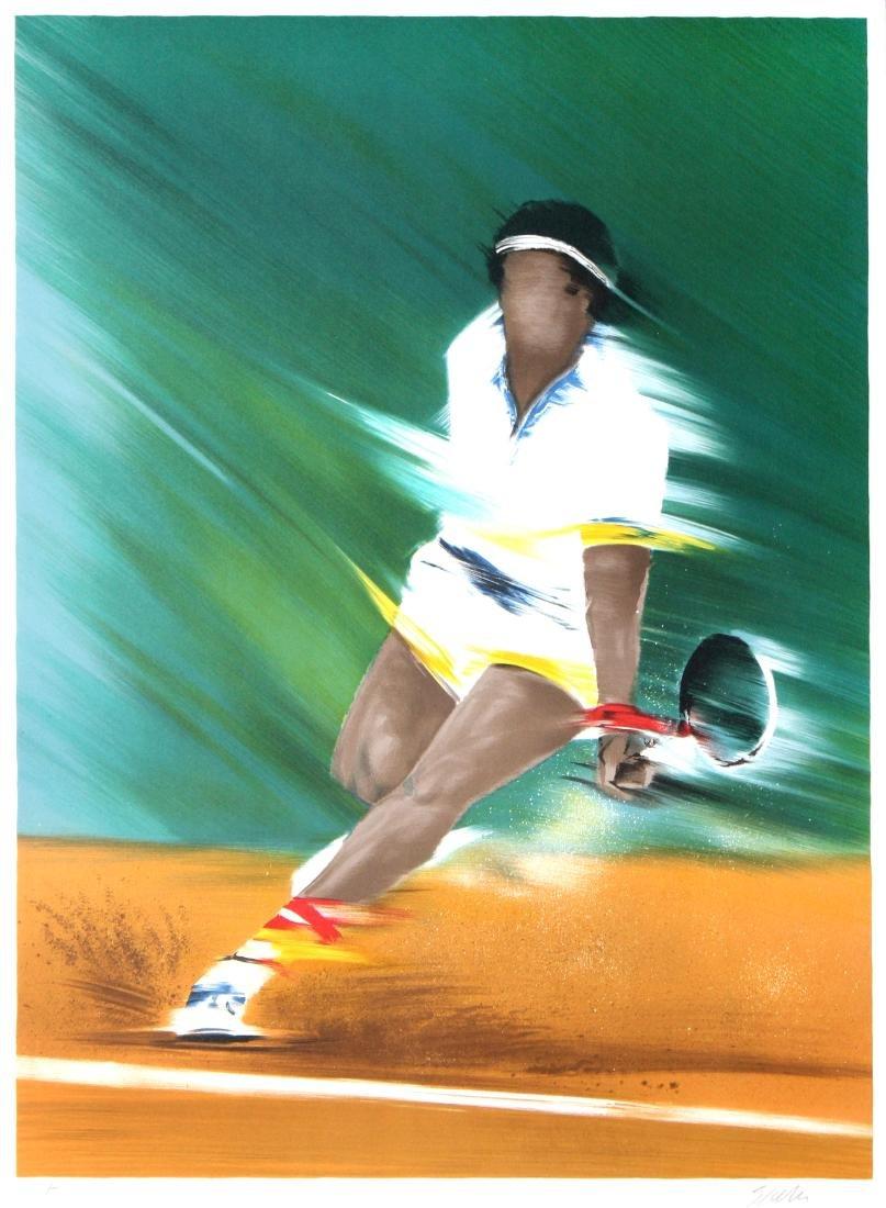 Victor Spahn - Tennisman II