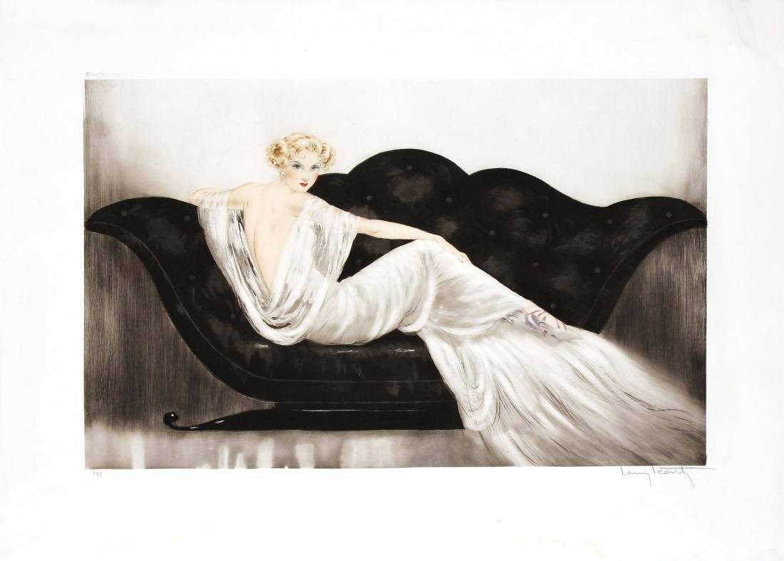 Louis Icart - Le Sofa