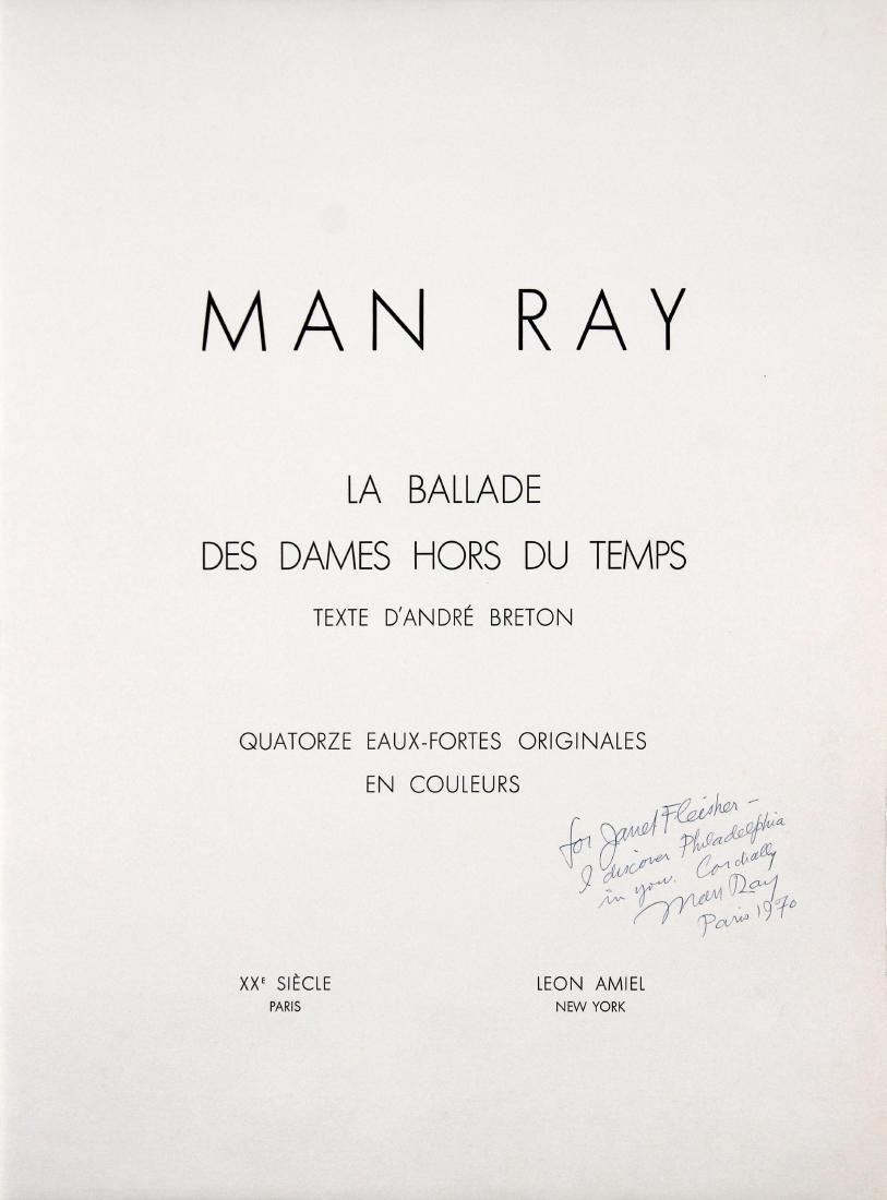 Man Ray - La Ballade des Dames Cover Page