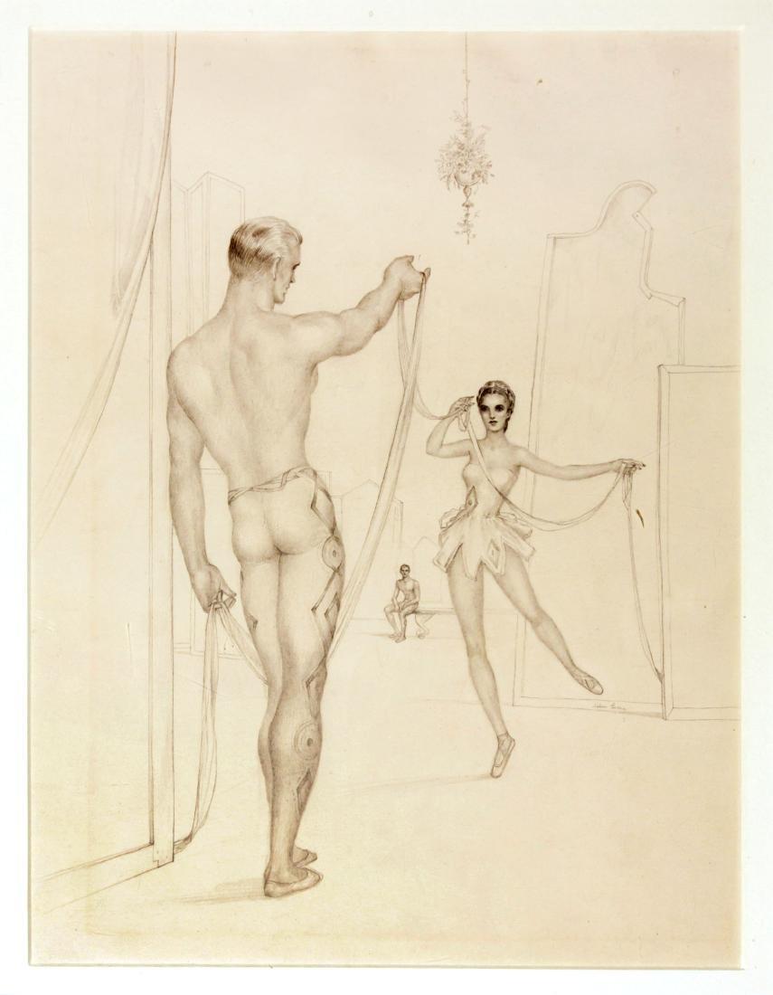 John Lear - Two Dancers