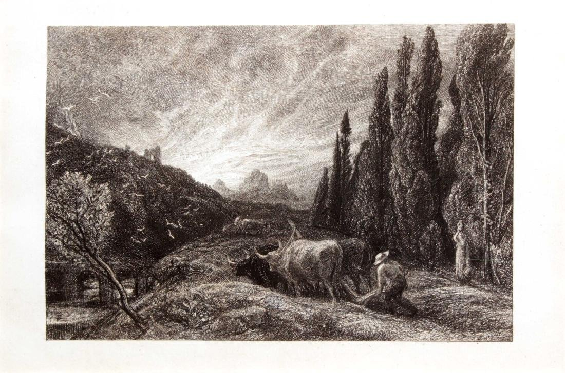 Samuel Palmer - The Early Ploughman