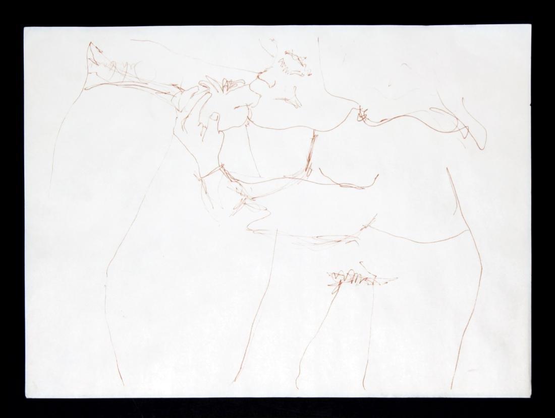 """John Lennon - Erotic Print from """"Bag One"""""""